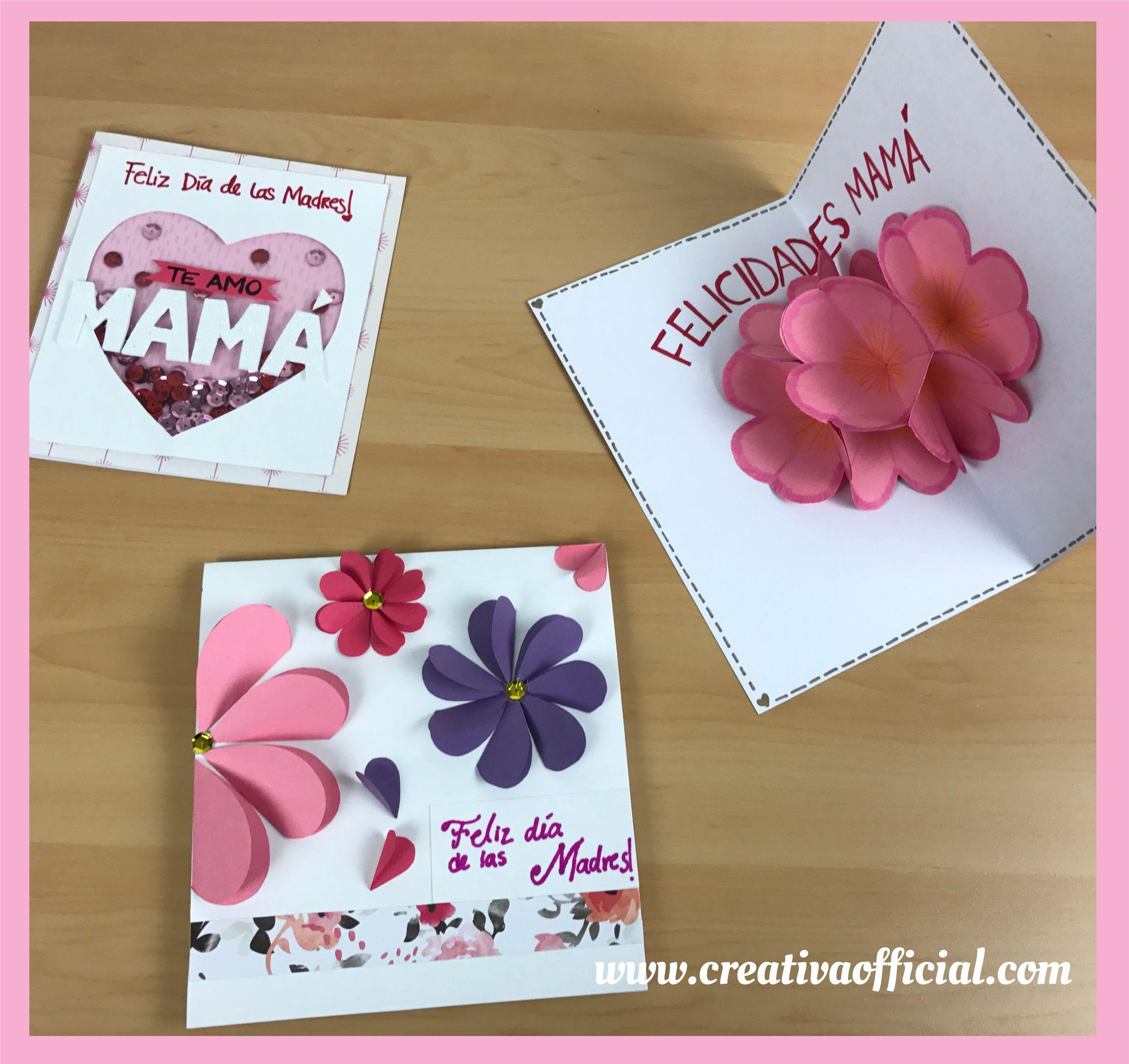 Tarjetas Para Mamá Especial Día De Las Madres Creativa Official