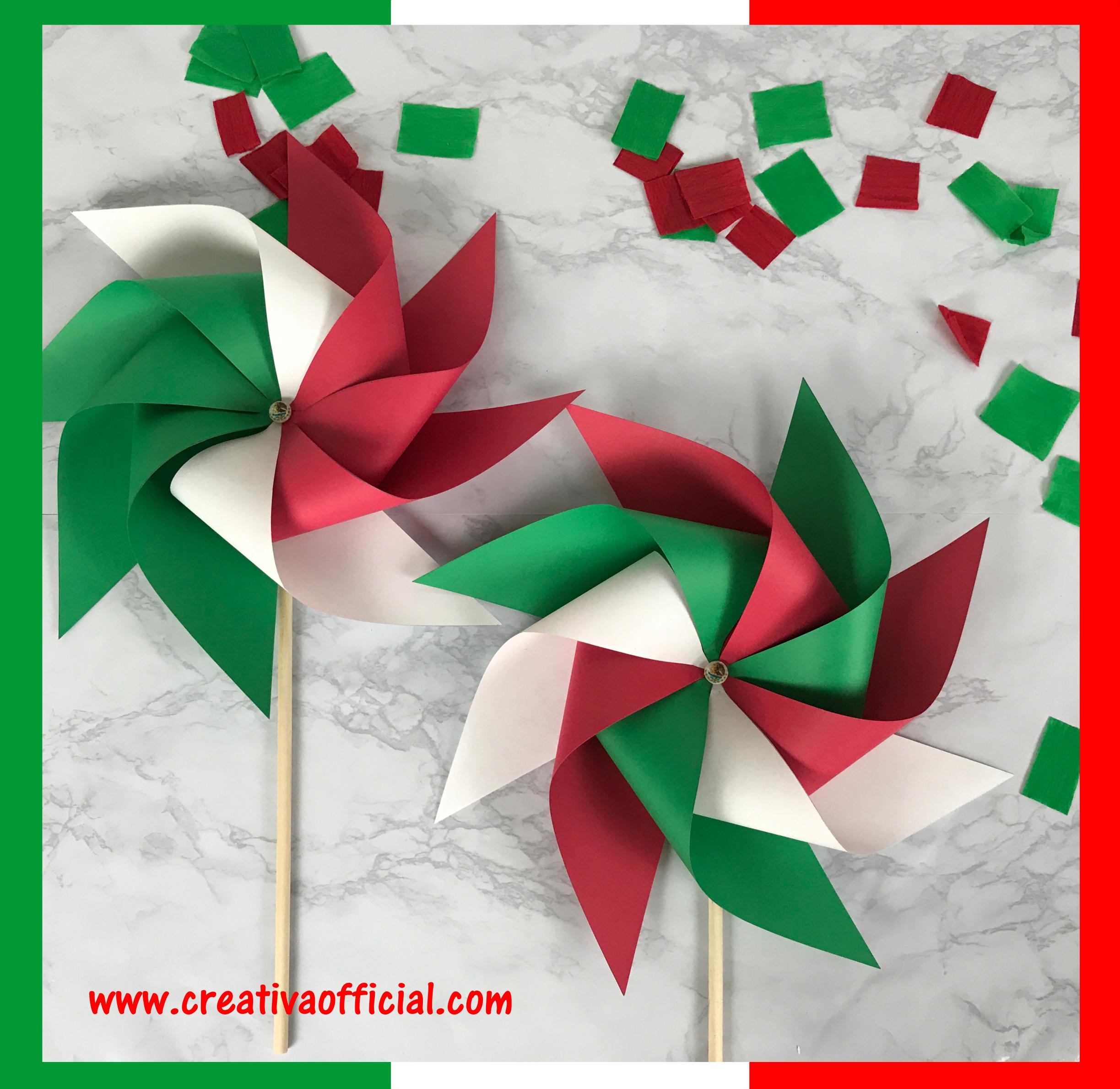 Como Hacer Rehiletes De Papel Rehiletes Tricolor Creativa