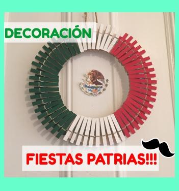 Coronas Para Decorar Cuadernos.Decoracion Para Fiestas Patrias Corona Decorativa